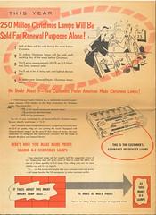 GE 1959 sales flyer p6 (JeffCarter629) Tags: generalelectricchristmas gechristmaslights gechristmas ge generalelectric generalelectricchristmaslights christmas christmaslights c6 c9 c7 1959