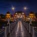 Chi Ming Palace at night