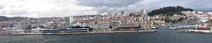 Vigo, Spain - IMG_8440pan (Captain Martini) Tags: cruise cruising cruiseships royalcaribbean navigatoroftheseas vigo spain galicia castrofortress sansebastianfortress