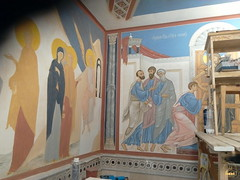 08. Роспись нижнего храма в Адамовке