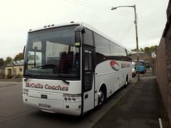 Volvo B12M Van Hool, PJI 3746 (miledorcha) Tags: mccall mccalls coaches lockerbie pji3746 mv02umd sil1075 volvo b12m van hool alizee t9 shearings holidays wigan 404 coach travel psv pcv scotland