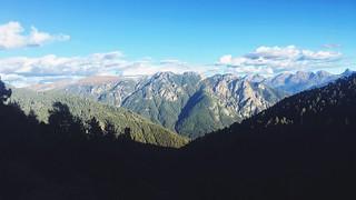 Walk down the mountain