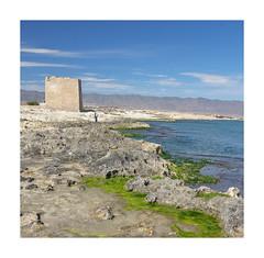Cabos Gata y Cope. Torre de Cope o del Santo Cristo S. XVI (jrusca) Tags: gata3 cabocope costa playa regióndemurcia mar mediterráneo aguilas cope cabo marinas torredecope