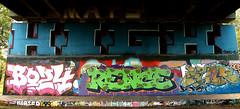 graffiti amsterdam (wojofoto) Tags: amsterdam graffiti streetart nederland netherland holland hof halloffame amsterdamsebrug flevopark wojofoto wolfgangjosten rence bo24 hdk