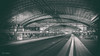Hauptbahnhof Nostaligic (Normann Photography) Tags: berlin germany hauptbahnhof classic kjøretøy old railroad railway railwaystation retro tog train trainstation bucketlist travel lines composition jernbanestasjon curves