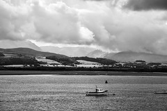 Summer963 (Bigdai100) Tags: anglesey beaumaris landscape sea sky snowdonia sonya5100 uk wales beach blackandwhite clouds outdoors seaside seasons summer water