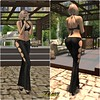 Nanita top and Odyssey pants compo (Lules_Brimm) Tags: female fashion vogue mesh pants tops secondlife sexi