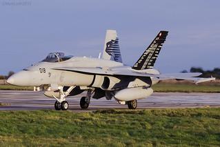Swiss Air Force, McDonnell Douglas F/A-18C Hornet, J-5018.