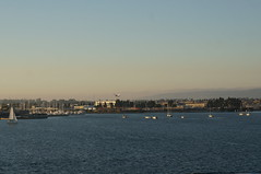 """A Jet Leaving San Diego • <a style=""""font-size:0.8em;"""" href=""""http://www.flickr.com/photos/28558260@N04/26657795979/"""" target=""""_blank"""">View on Flickr</a>"""