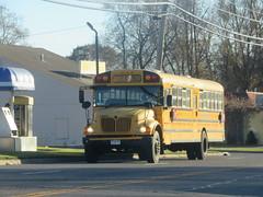 First Student #208013 (ThoseGuys119) Tags: firststudentinc kingstonny schoolbus icce rain rainyday laidlaw 3800