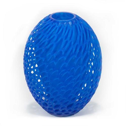 3d printed in resin -Cellular Cocoon Vase – by Dizingof - 3Dizingof.com