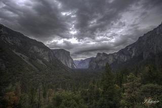 Stormy Valley Sunday