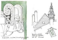 vase de Vix (gerard michel) Tags: france bourgogne côtedor musée vix sketch croquis