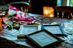 Time to wrap (jayneboo) Tags: 365 wrapping gifts christmas prints limited edition artcadia letterpress frames hotfoil odc happy