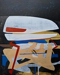 Jim Harris: Star Chart (Jim Harris: Artist.) Tags: art arte lartabstrait kunstzeitgenössische künstler peinture painting abstract abstractart maalaus malerei cosmos cosmology avantgarde