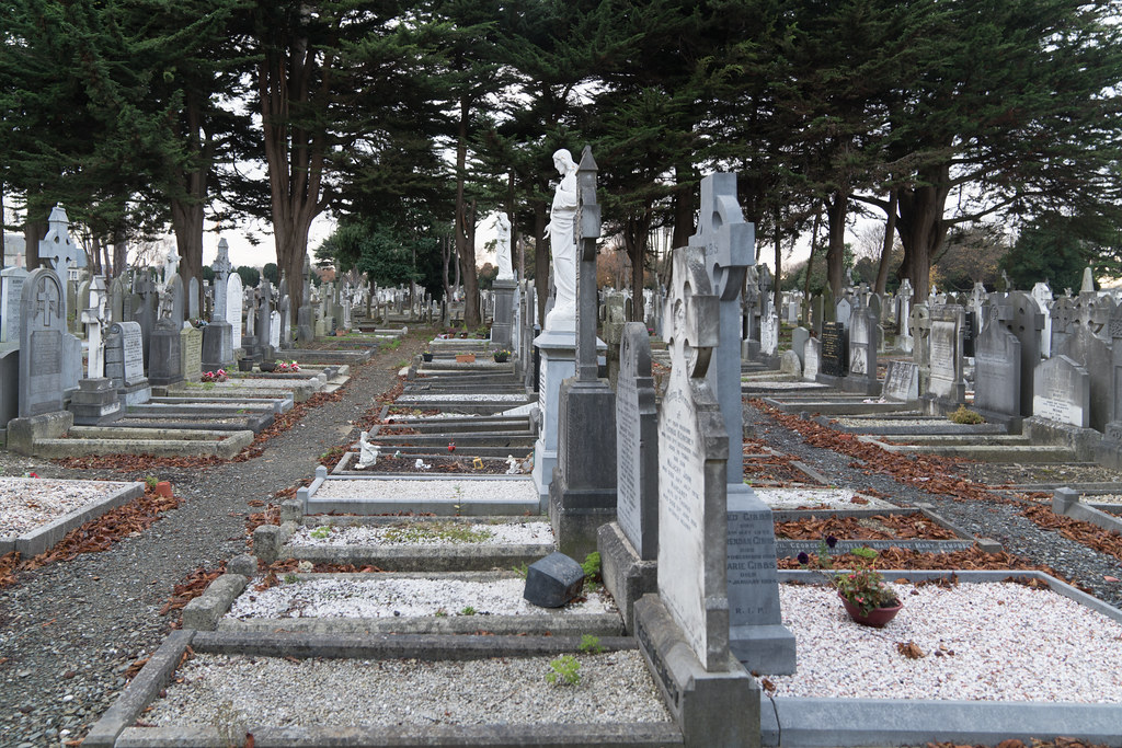 MOUNT JEROME CEMETERY IS AN INTERESTING PLACE TO VISIT [IT CLOSES AT 4PM]-134336