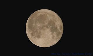 Super moon ~ AKA Full Cold Moon....