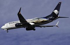 N845AMSamsung (MAB757200) Tags: aeromexico b737852 n845am samsunggalaxys8s8 unboxyourphone aircraft airplane airlines jetliner jfk kjfk boeing runway31r