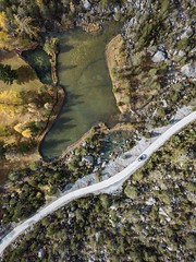 Switzerland - Road to Derborence (camilleboldt) Tags: travel road smalllake love fallcolours nature valais derborence forest lake overview dji dronelandscape droneshots mavicpro camera swisslandscape switzerland