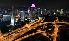 Autopistas (vic_206) Tags: singapur night noche nocturna luces lights