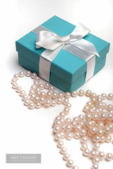 Little Blue Gift Box and Pearls (amycicconi) Tags: anniversary beads birthday birthdaypresent blue bow celebration christmaspresent dating elegance elegant engagement exclusive expensiive gift giving highpriced holiday iconic jewelry littlebluebox love luxurious luxury mothersday necklace opulent package pearls present receiving ribbon rich shopping silo specialoccasion strand surprise tiffany tiffanys valentinesday wealth weddinggift wrapped