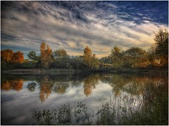 Reflecting (andystones64) Tags: silica silicapond water openwater reflection clouds sky burtonuponstather trees countryside still nature naturephotography weather scenic scunthorpe lincolnshire nlincs northlincs afternoon daylight england image imageof imagecapture outdoors