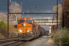 CSXT K138 @ Oxford Valley, PA (Darryl Rule's Photography) Tags: 2017 bnsf bigoakrd buckscounty cptl csx csxt catenary clouds cloudy diesel diesels fall foreignpower ge k138 november oil oiltrain oiltrains oxfordvalley pa pennsylvania railroad railroads readinglines readingrailroad septa sun sunny tankcar tankcartrain tankcars tankers townshiplinerd train trains trentonsub westbound wiretrain