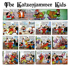 The Katzenjammer Kids Comic Strip - 3365 (Brechtbug) Tags: the katzenjammer kids newspaper comic strip or captain funnies mama der hans fritz characters originally created by rudolph dirks 1897 for american humorist sunday supplement new york journal paper strips drawn harold h knerr 35 years 1914 1949 inspector school official truant officer type translated from italian 2017 1916