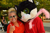 A thumbs up from the cat crew (radargeek) Tags: internetcatvideofestival okc myriadgardens downtown oklahomacity 2017 cat sunglasses thumbsup costume boa