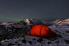 Camping on Flattop. Chugach State Park, Alaska (Paxson Woelber) Tags: alaska camping campsite wintercamping campingonflattop campingatflattop chugachstatepark hilleberg hillebergtents tents tent tentshot tentinmountains mountaincamp campsites