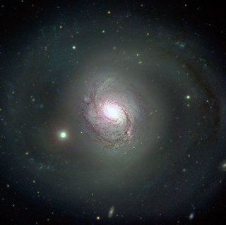 NGC 1068's Massive Black Hole (not visible), variant