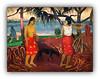 """Série Expo Gaugin: N° 6 """"Sous le Pandanus"""" - 1891 (Jean-Louis DUMAS) Tags: artistique artist artiste femme woman peintre peinture art portrait explore personnes"""
