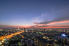 bangkok scape (Flutechill) Tags: night cityscape urbanskyline bangkok architecture asia dusk sunset urbanscene famousplace thailand traffic tower skyscraper downtowndistrict city sky river tokyoprefecture builtstructure