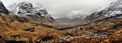 Pass of Glencoe (andrewmckie) Tags: glencoe scotland scottish scottishscenery scenery panorama outdoor landscape winter mountains