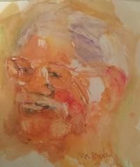Barry - jkpp (marion lokin/pensezel/✎) Tags: jkpp neocolourii portrait drawing watercolour