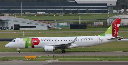 CS-TPQ Embraer ERJ-190-100LR TAP Express operated by Portugalia