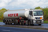 MAN - HOYER Group (scotrailm 63A) Tags: lorrie4s trucks tankers