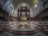 WAITING FOR AN ANGEL (Wizard CG) Tags: avon united kingdom england english gb great britain british bristol city of redcliffe st thomas martyr lane church chapel worship religion christ christian chrisinaity grade ii listed building olympus epl7 hdr heritage world trekker ngc road architecture fisheye arch ceiling