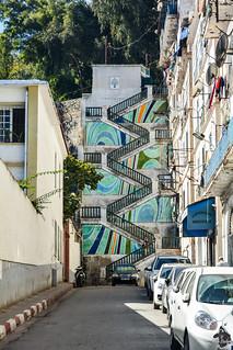 Escaliers de la rue Colonel Si El-Haouès