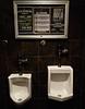 Men's Room (ricko) Tags: urinals mensroom restroom bullitenboard beerdrinkingsociety restaurant barleys shawnee kansas happyhour