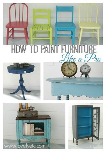 DIY Home Decor Inspiration  : How to paint furniture like a pro - 10 tricks to get that beautiful paint finish... - #DIYHome