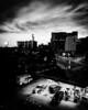 Long Island City from MoMA PS1 (nydavid1234) Tags: nydavid1234 iphone longislandcity queens newyork newyorkcity nyc landscape cityscape urban city gasstation shadow shadows monochrome blackandwhite blackwhite chiaroscuro clouds dark contrast