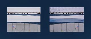 Find the Differences - The Swimming Pool in the Snow: 4.12.2017 Morning / Afternoon Das Schwimmbecken der Wäscherei Montag Morgens Montag Abends - Fenster zum Hof - Fehlersuchbild gespiegelt