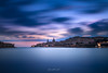 Good Morning Valletta (glank27) Tags: valletta blue hour early sky morning landscape cityscape architecture malta europe historic long exposure karl glanville canon eos 5d mk iv ef 1635mm f4l is usm sea water slow clouds colours harbour ngc haida gnd