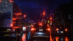 MoreRain (caribb) Tags: montreal montréal quebec québec canada urban city 2016 street streets montrealnorth montréalnord metropolitan ville 2017 buildings eastend henribourassa abstract waterdrops droplets water window windsheild repetition repeating wet weather rain driving traffic highways boulevards cars trucks congestion commuting commuters