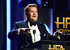 Host James Corden speaks onstage during the 21st Annual Hollywood Film Awards at The Beverly Hilton Hotel on November 5, 2017 in Beverly Hills, California. (Photo by Frazer Harrison/Getty Images for HFA)