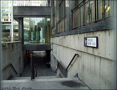 Budge Row`2007`Vanished (roll the dice) Tags: london city squaremile ec4 vanished demolished sad mad old surreal local history retro bygone river nostalgia bucklersbury legalandgeneral alley windows passage architecture changes collection urban england art uk classic advertising modernist vinoteca normanfoster breeam photography site construction michaelrbloomberg templeofmithras steps entrance closed gone