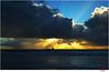 ship (Lutz Koch) Tags: borkum nordsee northsea ship schiff wattenmeer waddensea cargo elkaypics lutzkoch sonnenstrahlen himmel sky ocean sea sunrays sunbeams sun sonne wolken cloud clouds nachmittag afternoon schifffahrt shipping blau golden blue gold spectacular spektakulär