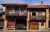 Arquitectura rústica. (JCarlos.) Tags: pueblo casa piedra cantabria barcena d610 madera chimenea balcón stone town