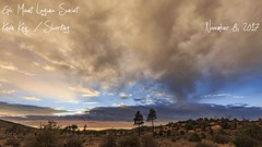 Epic Sunset Over a Meadow at Mount Laguna (slworking2) Tags: mountlaguna sunset clouds sky timelapse weather california sandiego